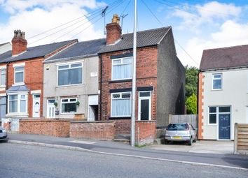 Thumbnail 2 bed end terrace house for sale in Common Road, Huthwaite, Nottinghamshire, Notts