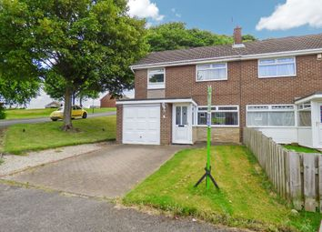 Thumbnail 3 bed semi-detached house for sale in Brackenridge, Burnopfield, Newcastle Upon Tyne