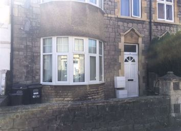 Thumbnail 1 bed flat to rent in Sunnyside Road, Weston-Super-Mare