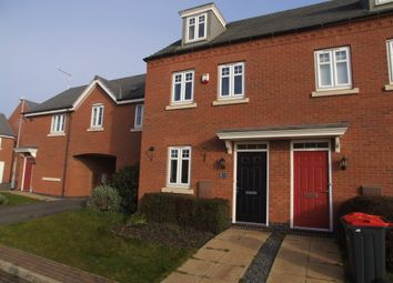 Thumbnail 3 bed town house for sale in Red Kite Close, Hucknall, Nottingham