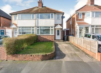 Thumbnail 3 bed semi-detached house for sale in Blythsford Road, Birmingham