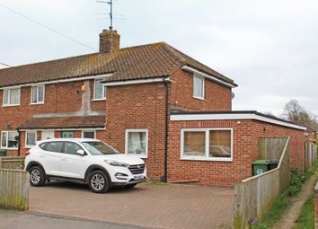 Thumbnail 3 bed semi-detached house for sale in Oxford Crescent, Didcot