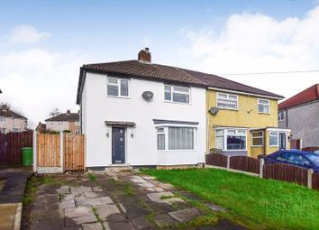 Thumbnail 3 bed semi-detached house for sale in Bower Farm Road, Old Whittington, Chesterfield