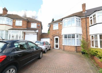 Thumbnail 3 bedroom semi-detached house for sale in Denewood Avenue, Handsworth Wood