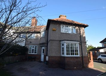 Thumbnail 4 bed semi-detached house for sale in Old Chester Road, Bebington, Wirral