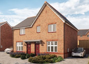Thumbnail 3 bed semi-detached house for sale in Wilfred Way, Tonyrefail