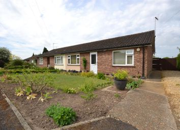 Thumbnail 2 bedroom semi-detached bungalow for sale in Pasture Close, Hillington, King's Lynn