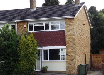 Thumbnail 3 bed semi-detached house to rent in Bramble Close, Wood Street Village, Guildford