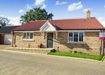 Thumbnail 3 bedroom detached bungalow for sale in Saffron Close, Watton, Thetford