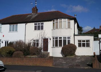 Thumbnail 3 bed semi-detached house for sale in Longmore Avenue, New Barnet, Barnet