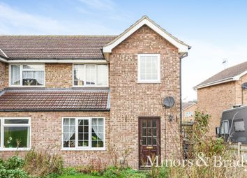 Thumbnail 3 bed semi-detached house for sale in Chipperfield Road, Kessingland, Lowestoft