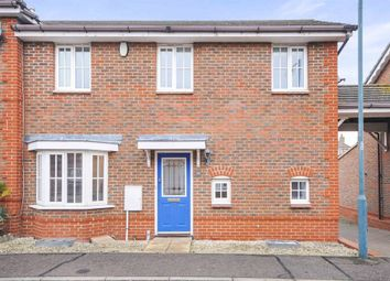Thumbnail 2 bedroom end terrace house for sale in Silvester Way, Springfield, Chelmsford