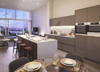 Thumbnail 3 bed flat for sale in Uberhaus At The Village Square, West Parkside, Greenwich, London
