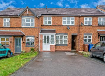 Thumbnail 3 bed town house for sale in Sweetbriar Way, Cannock