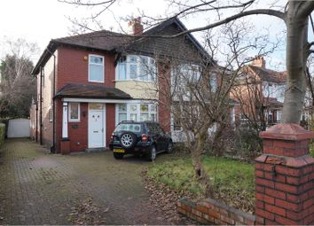 Thumbnail 3 bed semi-detached house for sale in Marple Road, Stockport