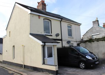 Thumbnail 3 bedroom end terrace house for sale in Clyde Street, Plymouth