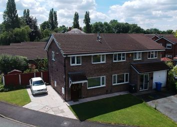 Thumbnail 3 bed semi-detached house for sale in Stonehaven Drive, Fearnhead, Warrington