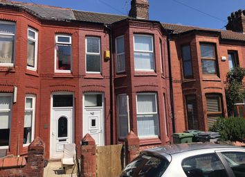 Thumbnail 4 bed terraced house for sale in Wright St, Wallasey