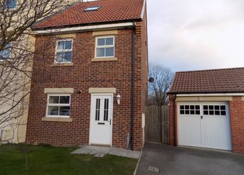 Thumbnail 4 bedroom town house to rent in Merrybent Drive, Merrybent, Darlington