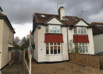 Thumbnail 3 bedroom semi-detached house for sale in Stroude Road, Virginia Water