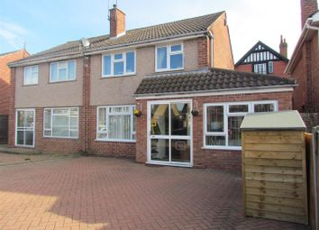 Thumbnail 3 bed semi-detached house for sale in Laxton Avenue, Worcester