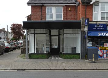 Thumbnail Retail premises to let in Tarring Road, Worthing