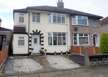 Thumbnail 3 bed semi-detached house for sale in Okehampton Road, Liverpool