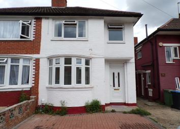 Thumbnail 4 bed semi-detached house to rent in Brentvale Avenue, Wembley