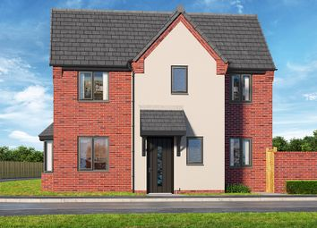 "Thumbnail 3 bed property for sale in ""The Crimson"" at Brook Park East Road, Shirebrook, Mansfield"