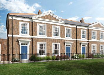 Thumbnail 3 bed terraced house for sale in Coade Square, Poundbury, Dorchester, Dorset