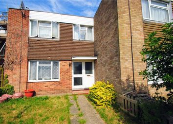 Thumbnail 3 bedroom end terrace house for sale in Carolines Close, Southend-On-Sea, Essex