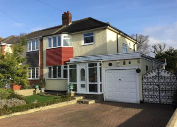 Thumbnail 3 bedroom semi-detached house for sale in Oak Lodge Avenue, Chigwell, Essex