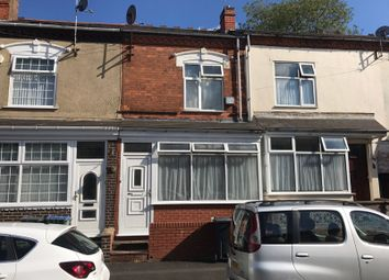 Thumbnail 2 bed terraced house for sale in Cheshire Road, Smethwick, West Midlands