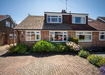 Thumbnail 2 bed semi-detached bungalow for sale in Cawood Crescent, Skirlaugh, Hull
