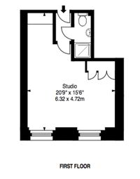 Thumbnail Studio for sale in Princess Road West, Leicester