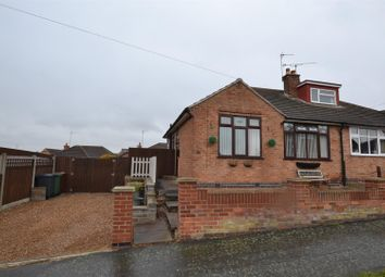 Thumbnail 2 bed semi-detached bungalow for sale in Chalfont Drive, Sileby, Leicestershire