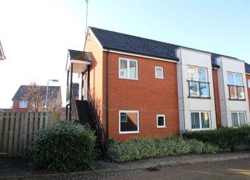 Thumbnail 1 bedroom flat for sale in Bridge Hook Close, Wolverton Mill, Milton Keynes