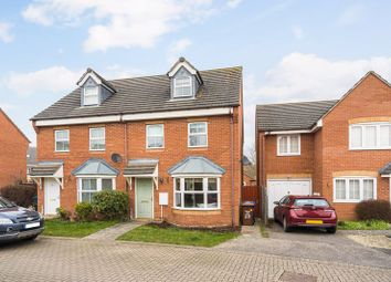 Restharrow Mead, Bicester OX26. 3 bed town house for sale
