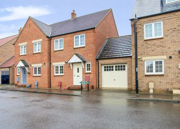 Thumbnail 3 bedroom semi-detached house for sale in Highfield Drive, Littleport, Ely