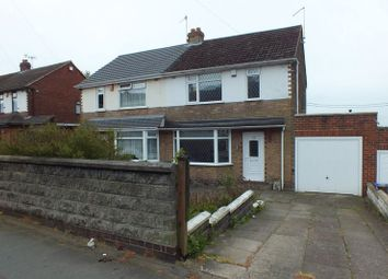 Thumbnail 3 bed semi-detached house for sale in Whitfield Road, Ball Green, Stoke-On-Trent