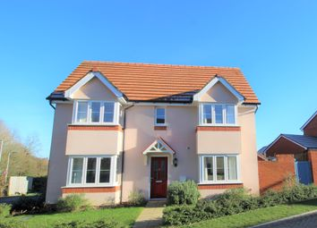 Thumbnail 3 bed link-detached house for sale in Harold Close, Ottery St. Mary