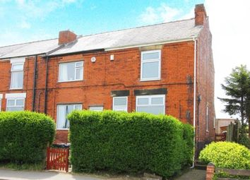 Thumbnail 2 bed end terrace house for sale in Chesterfield Road, Grassmoor, Chesterfield, Derbyshire