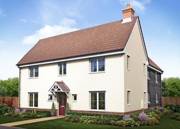 "Thumbnail 4 bedroom detached house for sale in ""Plot 310 The Langdale"" at London Road, Attleborough"