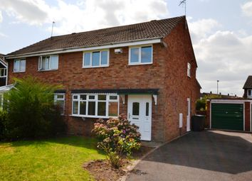 Thumbnail 3 bed semi-detached house for sale in Warwick Close, Market Drayton