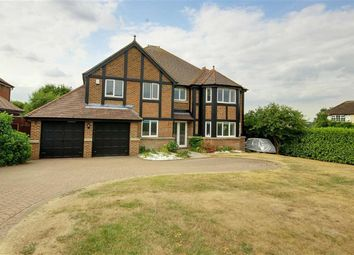 Thumbnail 5 bed detached house to rent in Hanyards Lane, Cuffley, Hertfordshire