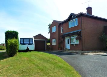 Thumbnail 3 bedroom detached house for sale in Hogan Way, Stafford