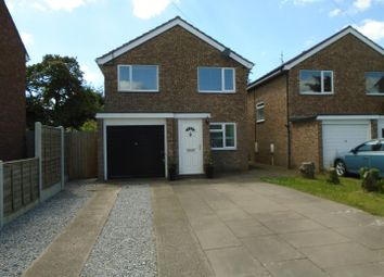 Thumbnail 3 bed detached house for sale in Whitecroft Road, Shrewsbury