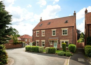 Thumbnail 5 bed detached house for sale in St. Peters Close, Brafferton, York, North Yorkshire