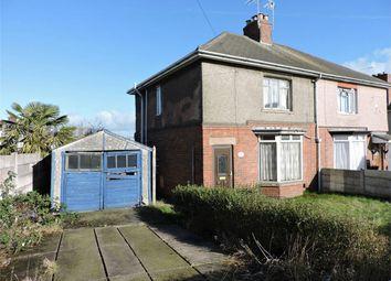 Thumbnail 3 bed semi-detached house for sale in Byron Avenue, Alfreton, Derbyshire