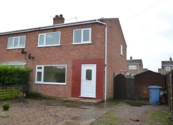 Thumbnail 3 bed semi-detached house to rent in Camborne Crescent, Retford